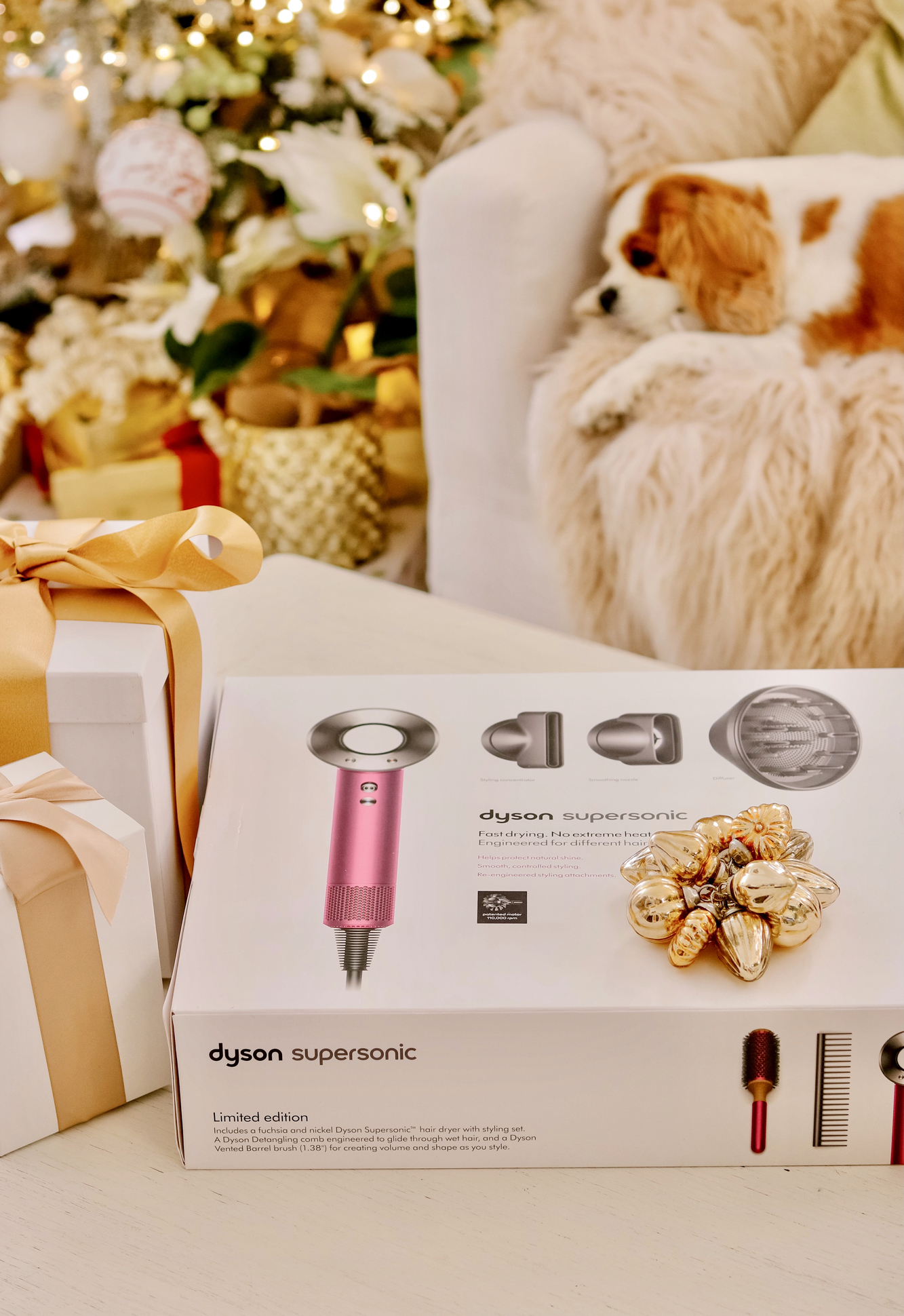 Top Beauty Christmas Gifts: Dyson Hair Dryer review from Nordstrom - affordable and best top haircare gifts dyson hair products