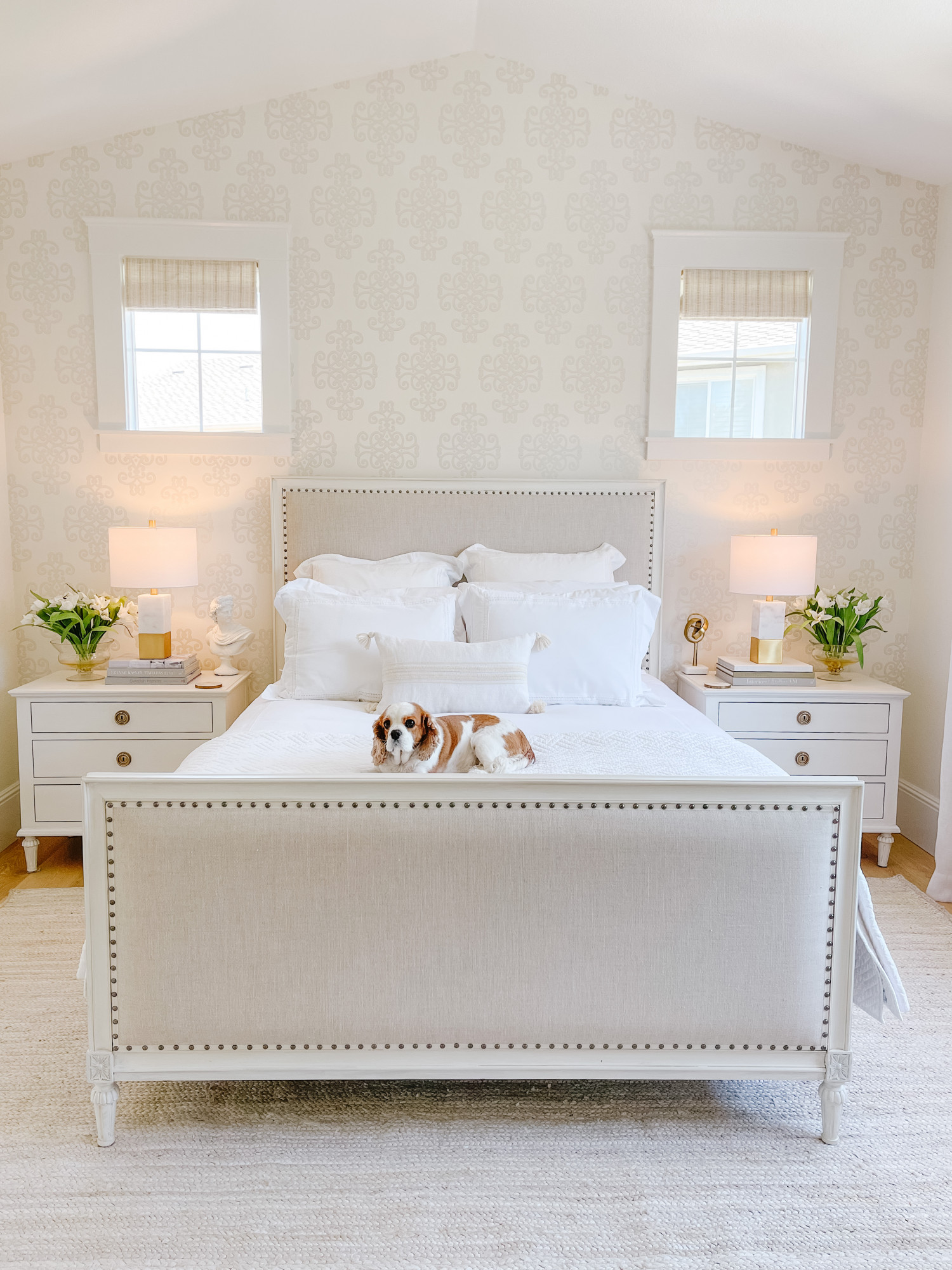 Bedroom Decor Refresh Affordable Rug Lamp Styled Room