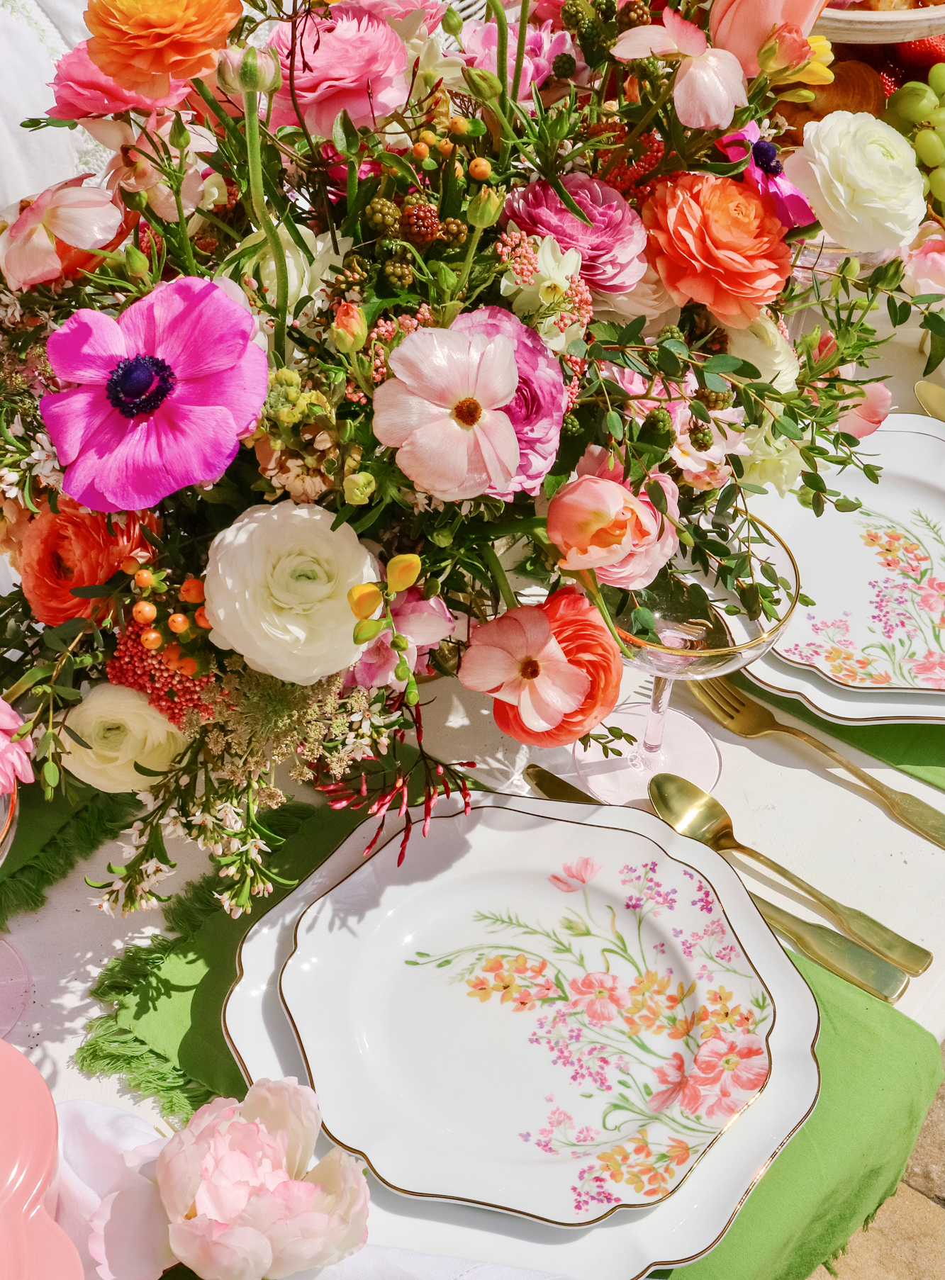 Emma's Birthday Easter Brunch celebration! Inspiration for spring tablescapes, bridal shower ideas, baby shower brunch or anything.